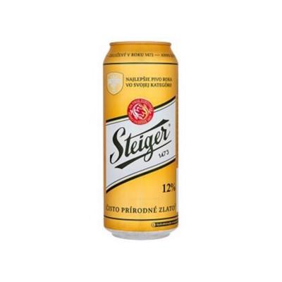 Bia Steiger vàng 5% - lon 500ml