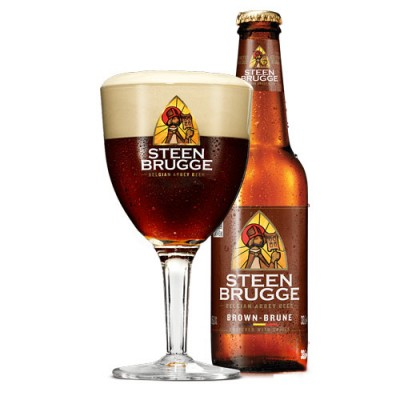 Bia Steenbrugge Dubbel Brune 6.5%-Chai 330 ml
