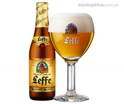 Bia Leffe vàng 6,6% - chai 330ml