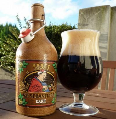 Bia Sứ ST.Sebastiaan Dark  6,9% - chai 500ml