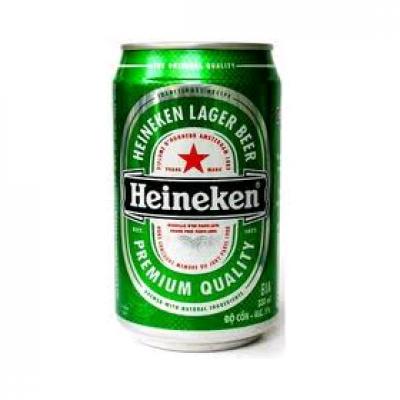 Bia Heineken Hà Lan 5% - lon 330 ml