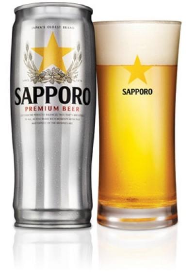 Bia Sapporo Premium 5% – lon 650 ml