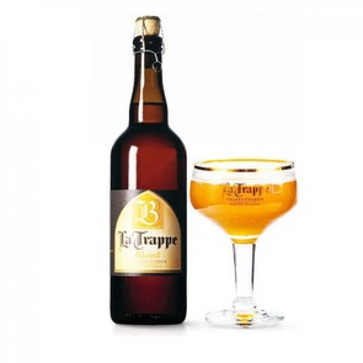 Bia La Trappe Blond 6,5% -  chai750 ml