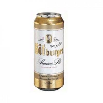 Bia Bitburger 5% - lon 500 ml