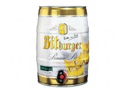 Bia Bitburger 5% - bom 5 lít