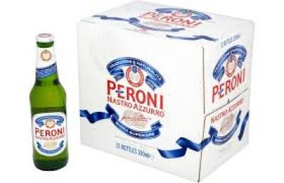 Bia Peroni Nastro Azzurro 5,1% – chai 330ml