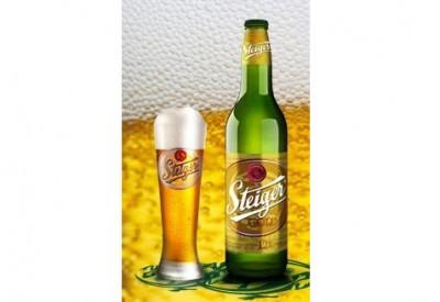 Bia Steiger vàng12% - chai 500ml