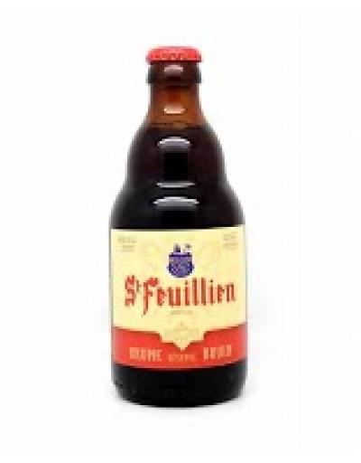 Bia St-Feuillien Brune 8,5% - Chai 330 ml