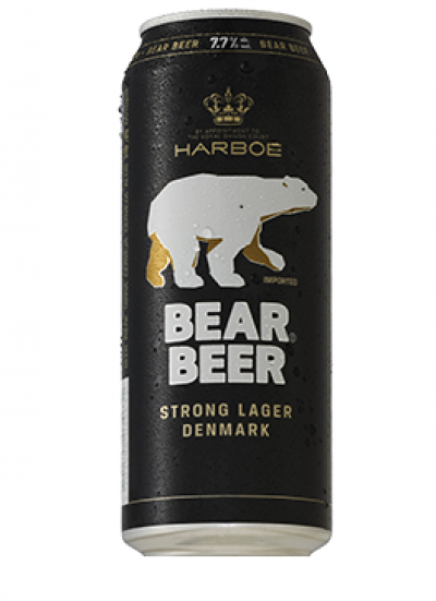 Bia Gấu/Bear Beer 7.7% - lon 500 ml