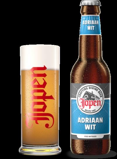 Bia Jopen Adriaan Wit 5%-chai 330ml