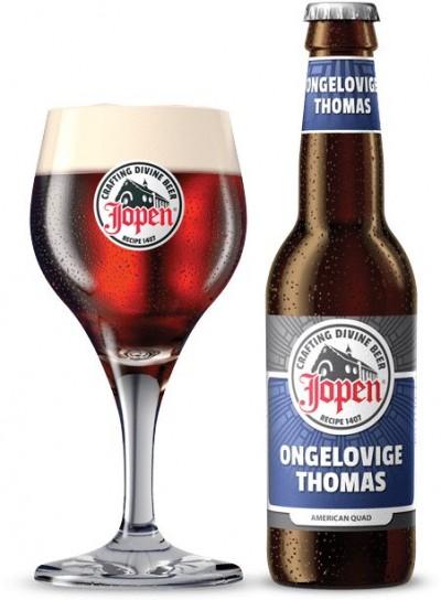 Bia Jopen Doubting Thomas 10%-chai 330ml