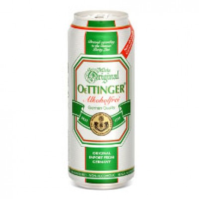 Bia chay Oettinger 0,5%-lon cao 500ml
