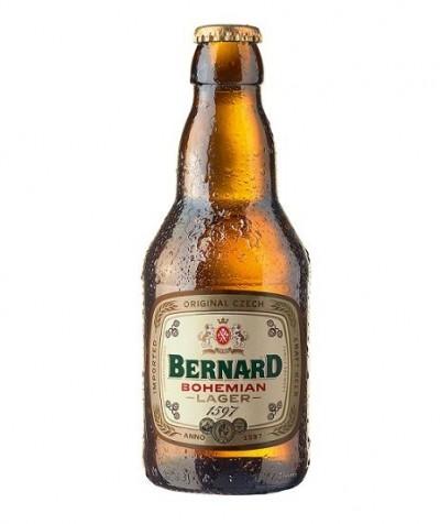 Bia Bernard Bohemian Lager 4,9%-chai 330ml