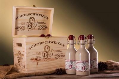 Bia nặng Schorsch Weizen 13% nút sứ–chai 500ml