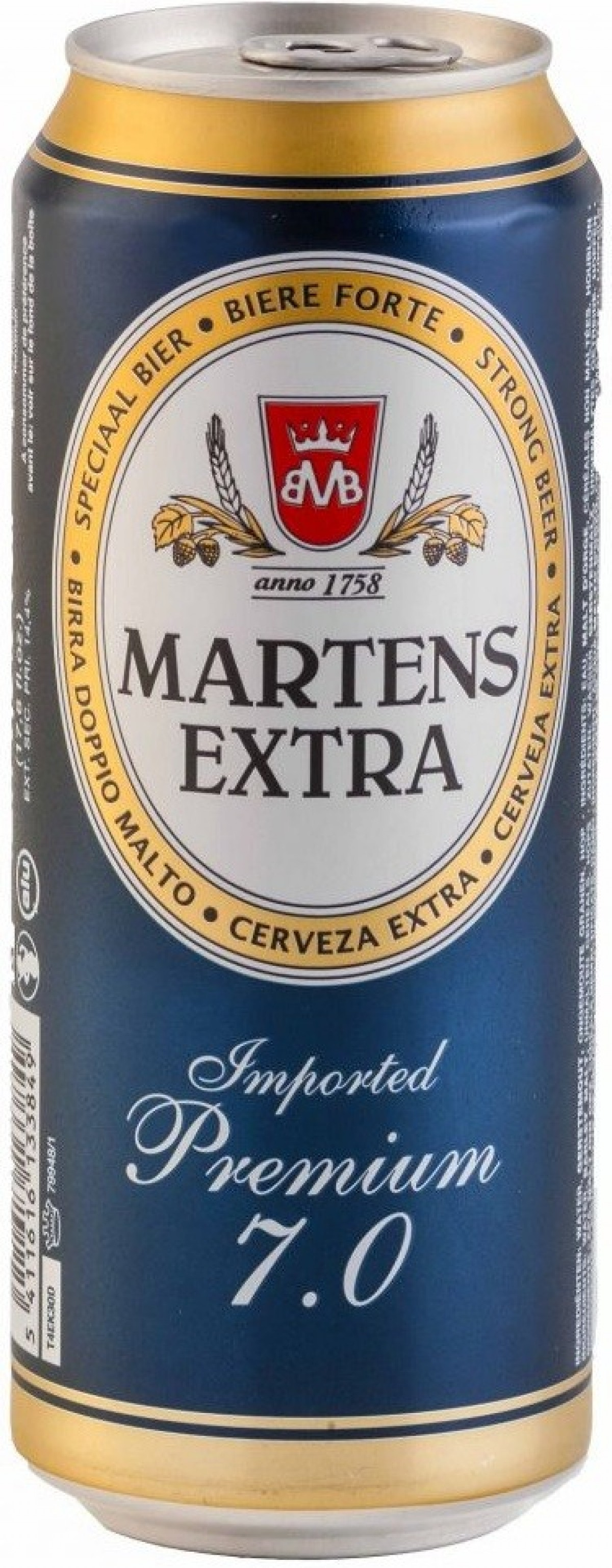 Bia Martens Extra 7%-lon 500ml
