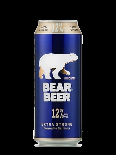 Bia Gấu/Bear Beer 12% - lon 500ml