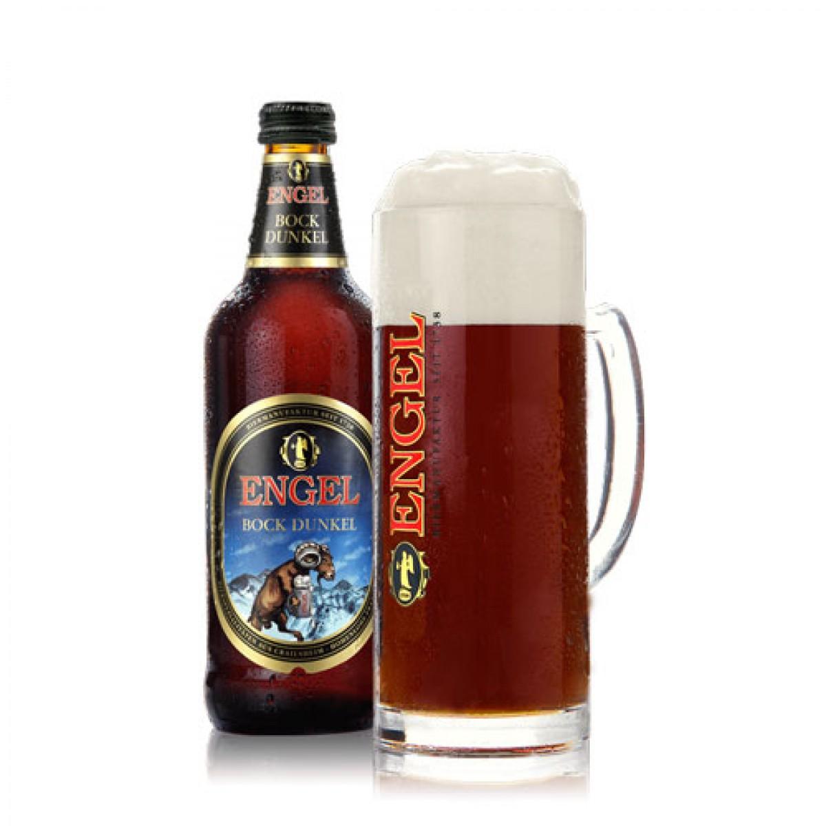 Bia Engel Bock Dunkel 7,2% Đức-chai 500 ml
