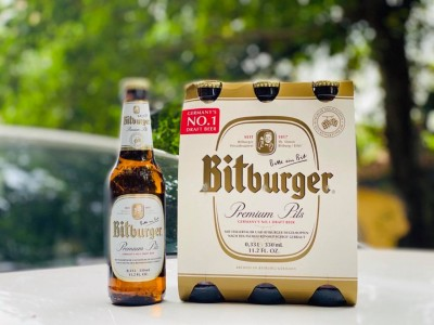 Bia Bitburger 5% - chai 330 ml