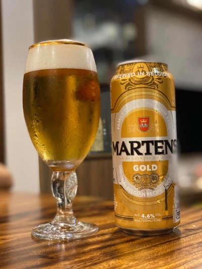 Bia Martens Gold 4,6%-lon500ml
