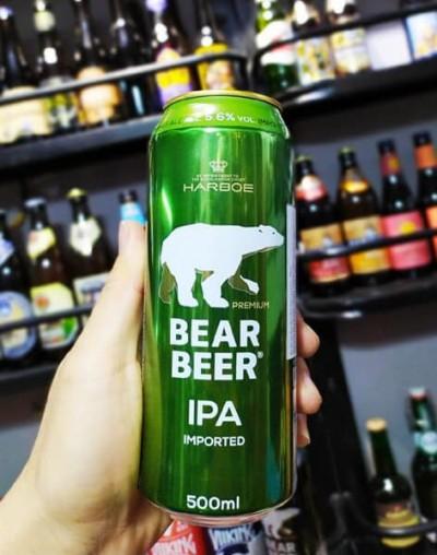 Bia Gấu Bear Beer IPA 5.6% – Lon 500ml