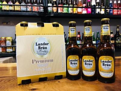 Bia Lander Brau Premium 4,9%-chai 330 ml